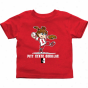 Pittsburg State Gorillas Toddler Girls Softbalo T-shirt - Red