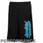 Reebok Carolina Panthers Youth Black Colorbpock Performance Shorts