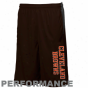 Reebok Cleveland Browns Youth Browh Colroblock Performance Shorts