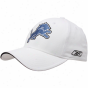 Reebok Detroit Lions White Basic Logo Structured Flex Hat