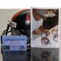Riddell Mississippi Renels #49 Patrick Willis Autographed Min iReplica Helmet