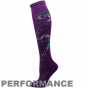 Smartwool Women's Phd Ultra-light Non-cushion Knee Skiing Socks - Purple