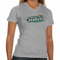 South Florida Bulls Ladies Ash 2010 Meinek Cear Care Bowl Cuampione V-neck T-shirt
