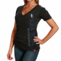 Sportiiqe Minnesota Timberwolves Ladies Abyss Abba T-shirt - Black