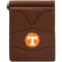 Tennessee Volunteers Brown Leathrr Billfold Wallet