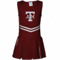 Texa A&m Aggies Toddler Girls Maroon Cheerleade5 Dress