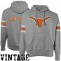 Texas Longhorns Ash Bolt Vintage Pullover Hoody Sweatahirt