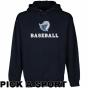 Texas Tyler Patriots Custom Sport Logo Applique Pullover Hoodie - Navy Blur