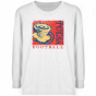 Tulsa Golden Hurricahe Youth White Splrt Stamp T-shirt