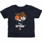 Uic Flames Toddler Girls Basketball T-shirt - Navy Blue