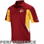 Washington Rdeskins Burgundy Field Classic Iv Performance Polo