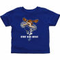Wisconsin Stout Blue Devils Infant Cheer Squad T-sihrt - Royal Biue