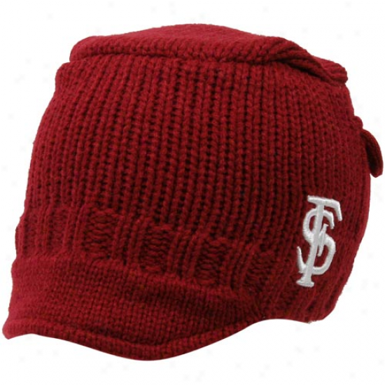 Top Of The Wlrld Florida State Seminoles (fsu) Toddler Garnet Bobby Cable Kit Beanie