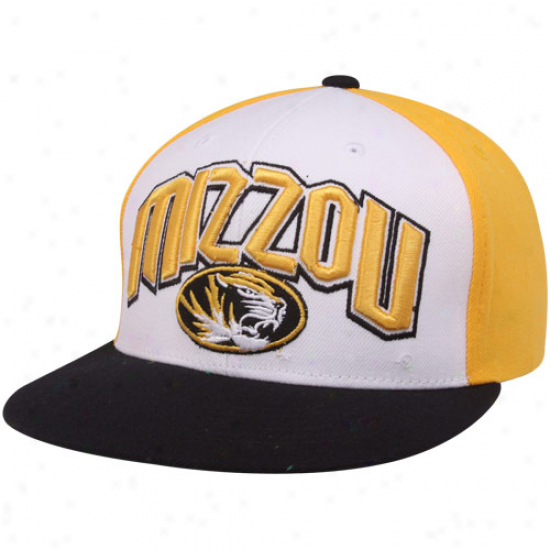 Top Of The World Missouri Tigers Gold-white-black Trend Snapback Adjustable Hat