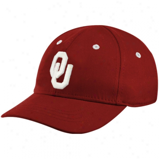 Top Of The World Oklahoma Sooners Crimson Infant 1fit Hat