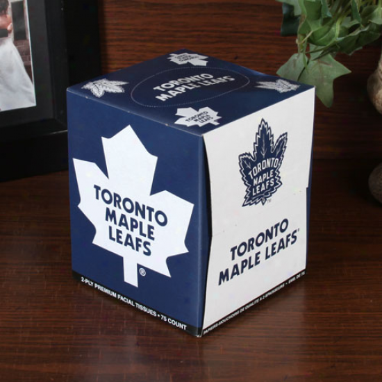 Toronto Maple Leafs Box Of Sportss Tissues