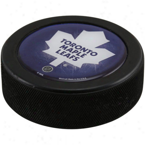 Toronto Maple Leafs Domex Hockey Puck