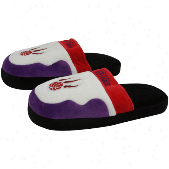 Toronto Raptors Unisex Team Color Scuff Slippers