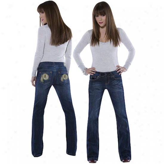 Touch By Alyssa Milano Washington Redskins Signature Denim Jesns