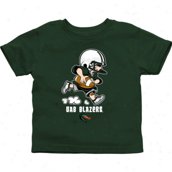 Uab Blazers Toddler Inconsiderable Squad T-shirt - Green