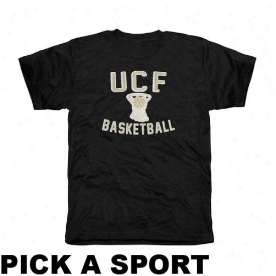 Ucf Knights Legacy Tri-blend T-shirt - Black