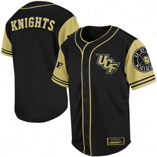 Ucf Knights Rally Baseball Jersey - Negro