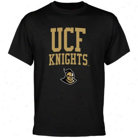 Ucf Knights Team Curve T-shirt - Black