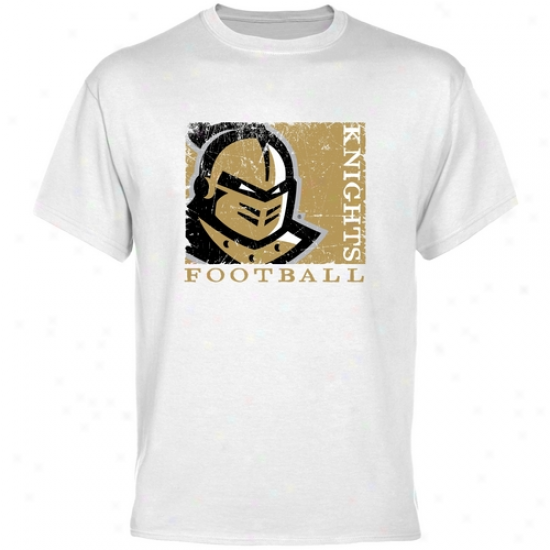 Ucf Knights White Sport Stamp T-shirt