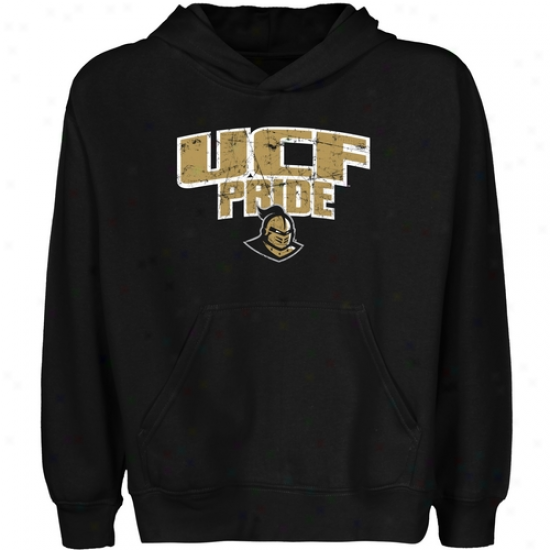 Ucf Knights Youth State Pride Pullover Hoodie - Black