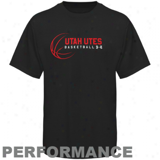Under Armour Utah Utes Game Changer Performance Premium T-shirt - Black