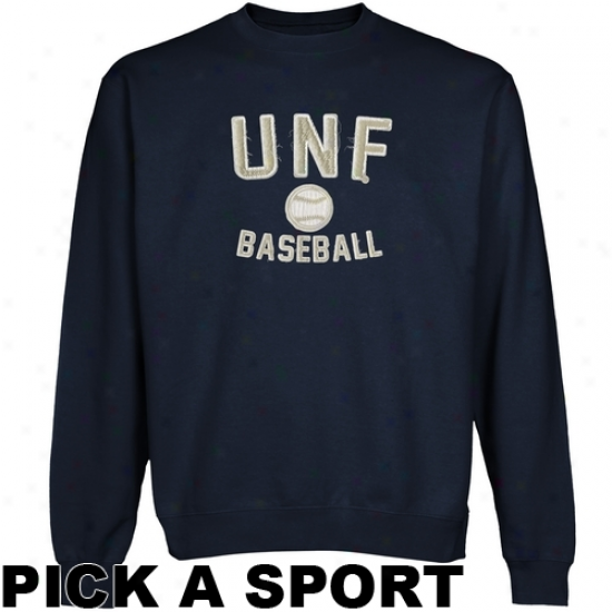 Unf Ospreys Legacy Crew Neck Fleece Sweatshirt - Navy Buue