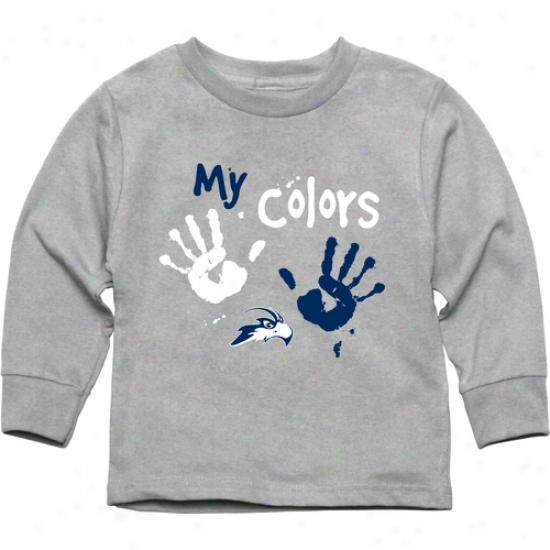 Unf Ospreys Toddler My Color qLong Sleeve T-shirt - Ash