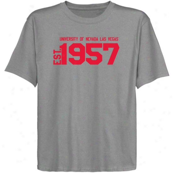 Unlv Rebels Youth Ash Est. Date T-shirt