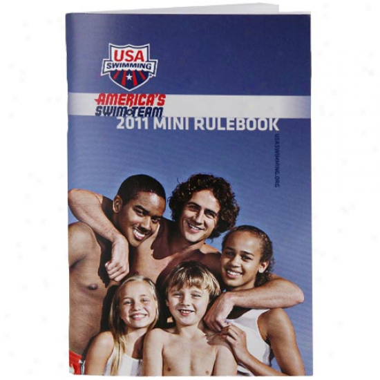 Usa Swimming 2011 Mini Rulebook