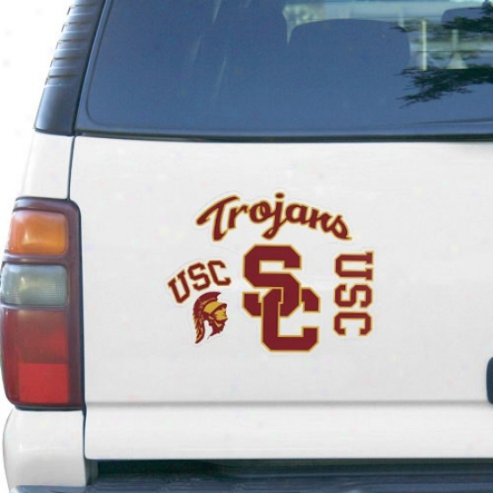 Usc Trojans 3-pack Magnet Set- -