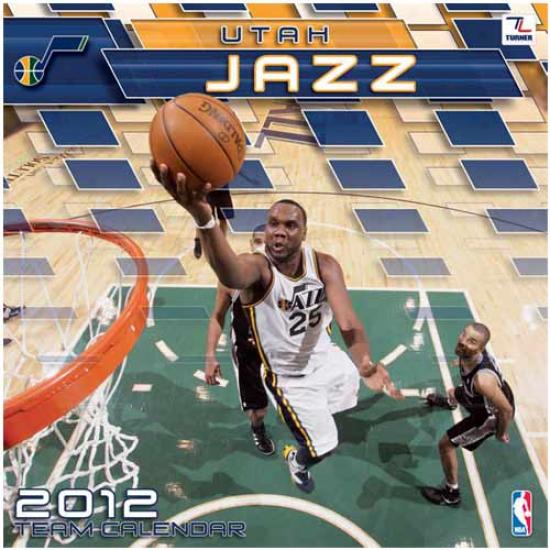 Utah Jazz 2012 Wall Calendar