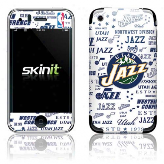 Utah Jazz Historic Blast Iphone 3g/gs Skin