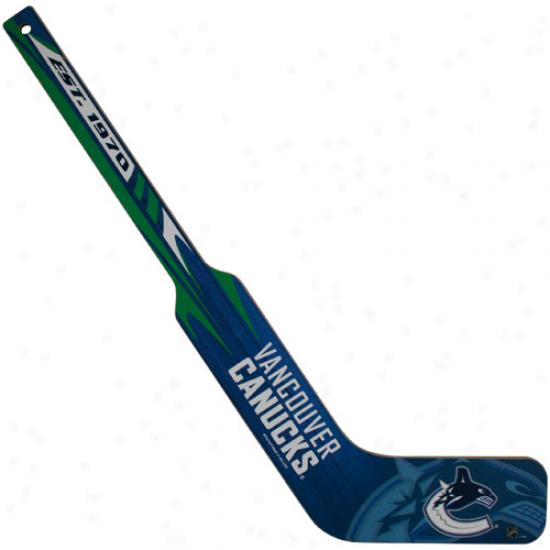 Vancouver Canucks Mini Goalie Stick