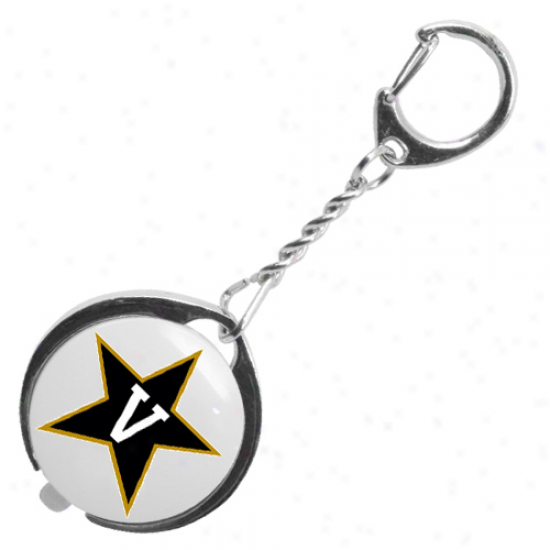 Vanderbilt Commodores Led Flashlight Keychain