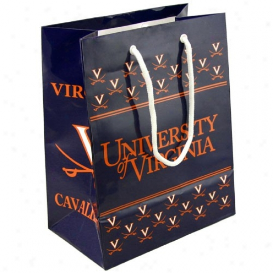 Virginia Cavaliers Team Logo Gift Bag