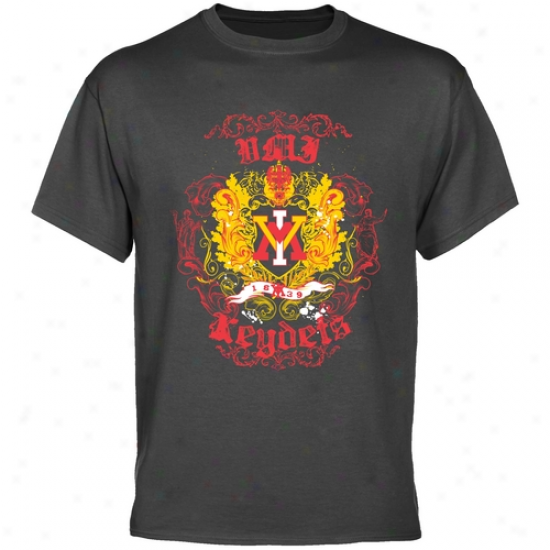 Virginia Military Institute Keydets Charcoal Grand Top T-shirt