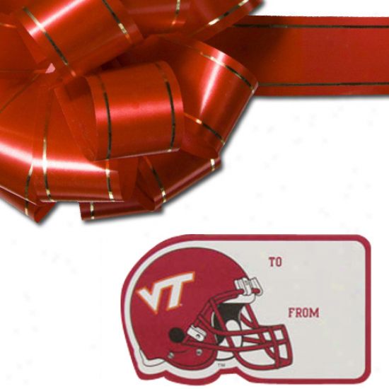 Virginia Tech Hokies 3-pack Team Gift Tag Sheets