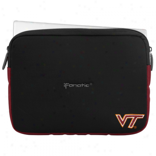 Virginia Tech Hokies 9''-11'' Black Ifanatic Mini Sleevz Ipad/mini Pc/standard Netbook Case