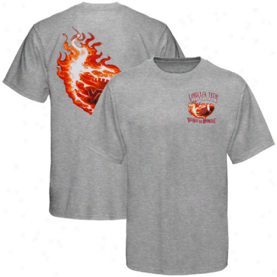 Virginia Tech Hokies Ash Too Hot To Handle T-shirt