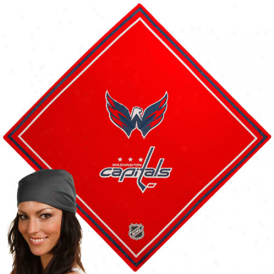 Washington Capitals Red Jersey Bandana