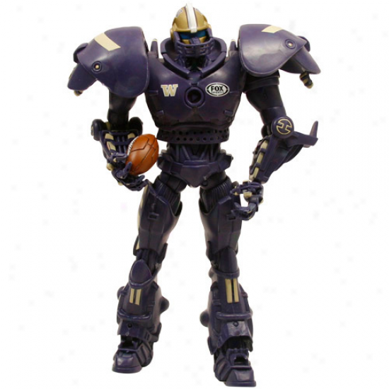 Washington Huskeis Fox Sports Cleatus The Robot Action Figure