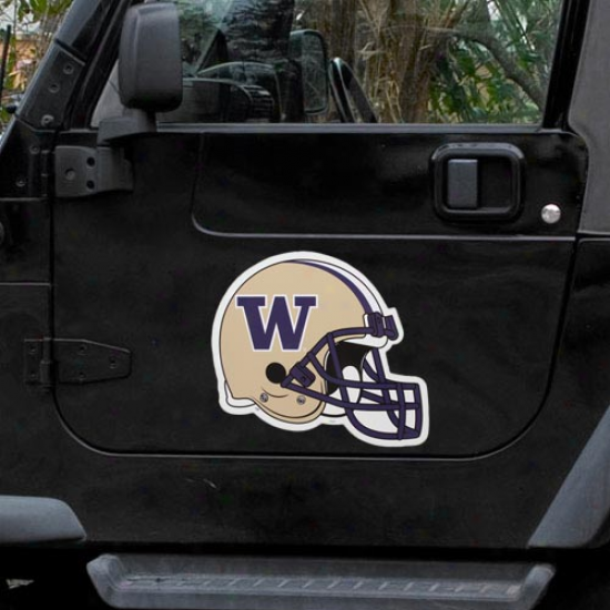 Washington Huskies Helmet Car Loadstone