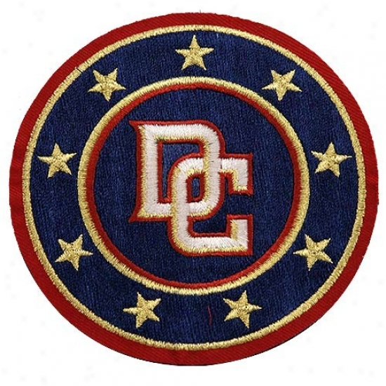 Washington Nationals Embroidered Team Logo Collectible Patch- -
