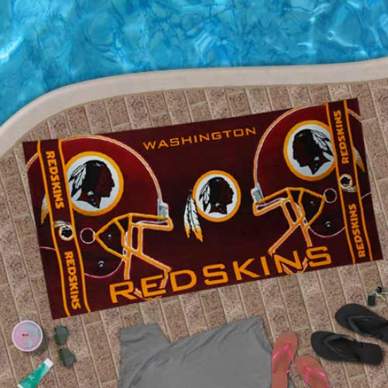 Washington Redskins 30'' X 60'' Burgundy Beach Towel