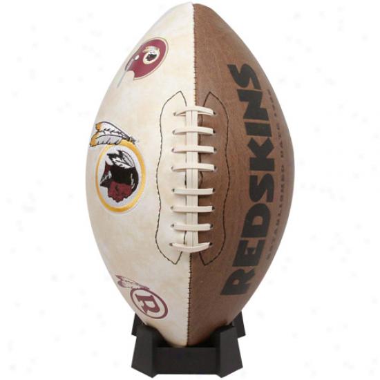 Washington Redkins Nfl Vintage Full-size Football